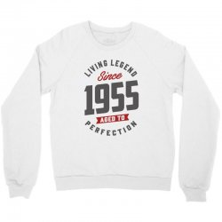 Since 1955 Aged To Perfection Crewneck Sweatshirt | Artistshot