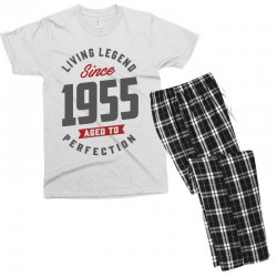 Since 1955 Aged To Perfection Men's T-shirt Pajama Set | Artistshot