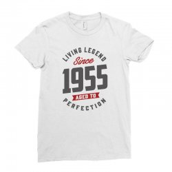 Since 1955 Aged To Perfection Ladies Fitted T-Shirt | Artistshot