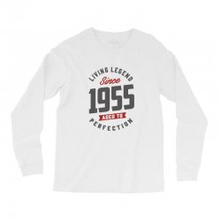 Since 1955 Aged To Perfection Long Sleeve Shirts | Artistshot