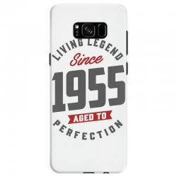 Since 1955 Aged To Perfection Samsung Galaxy S8 Case | Artistshot