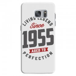 Since 1955 Aged To Perfection Samsung Galaxy S7 Case | Artistshot