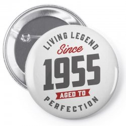 Since 1955 Aged To Perfection Pin-back button | Artistshot