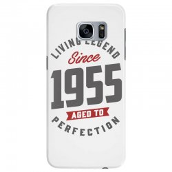 Since 1955 Aged To Perfection Samsung Galaxy S7 Edge Case | Artistshot