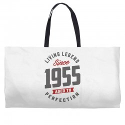 Since 1955 Aged To Perfection Weekender Totes | Artistshot