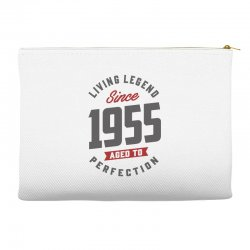 Since 1955 Aged To Perfection Accessory Pouches | Artistshot