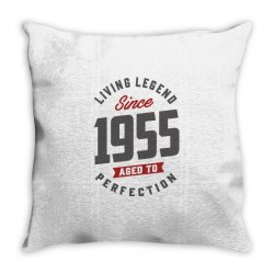 Since 1955 Aged To Perfection Throw Pillow | Artistshot