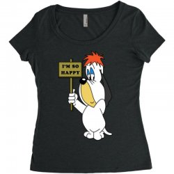 droopy dog Women's Triblend Scoop T-shirt | Artistshot