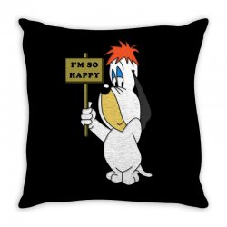 droopy dog Throw Pillow | Artistshot
