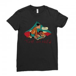 troy abed calvin Ladies Fitted T-Shirt | Artistshot