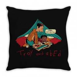 troy abed calvin Throw Pillow | Artistshot