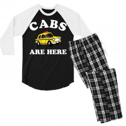 cabs are here Men's 3/4 Sleeve Pajama Set | Artistshot