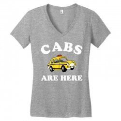 cabs are here Women's V-Neck T-Shirt | Artistshot