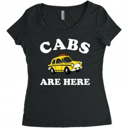 cabs are here Women's Triblend Scoop T-shirt | Artistshot