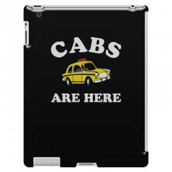 cabs are here iPad 3 and 4 Case | Artistshot