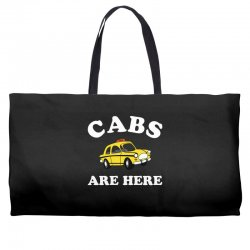 cabs are here Weekender Totes | Artistshot