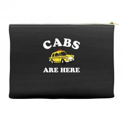 cabs are here Accessory Pouches | Artistshot