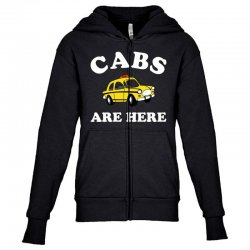 cabs are here Youth Zipper Hoodie | Artistshot