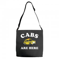 cabs are here Adjustable Strap Totes | Artistshot