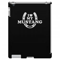 i love mustang iPad 3 and 4 Case | Artistshot