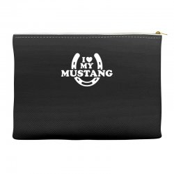 i love mustang Accessory Pouches | Artistshot