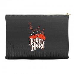 bagpipe hero Accessory Pouches | Artistshot