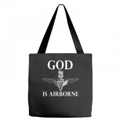 royal marines god is airborne Tote Bags | Artistshot