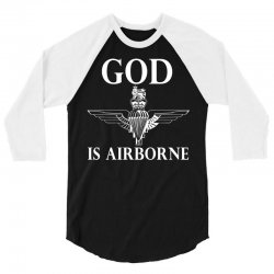 royal marines god is airborne 3/4 Sleeve Shirt | Artistshot