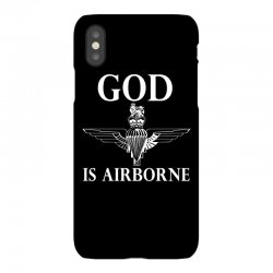 royal marines god is airborne iPhoneX Case | Artistshot