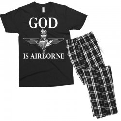 royal marines god is airborne Men's T-shirt Pajama Set | Artistshot