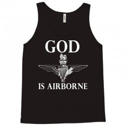 royal marines god is airborne Tank Top | Artistshot