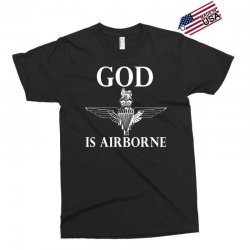 royal marines god is airborne Exclusive T-shirt | Artistshot