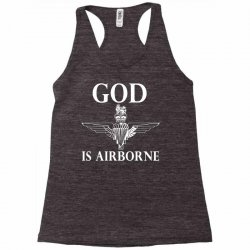 royal marines god is airborne Racerback Tank | Artistshot