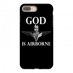 royal marines god is airborne iPhone 8 Plus Case | Artistshot