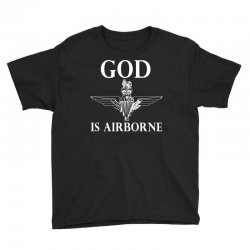 royal marines god is airborne Youth Tee | Artistshot