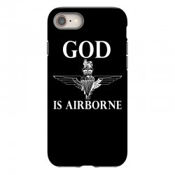 royal marines god is airborne iPhone 8 Case | Artistshot