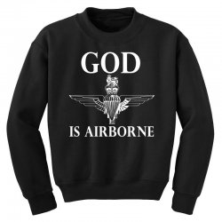 royal marines god is airborne Youth Sweatshirt | Artistshot