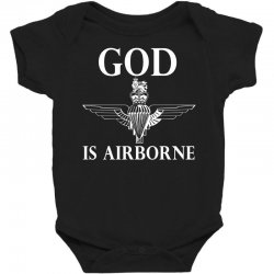 royal marines god is airborne Baby Bodysuit | Artistshot