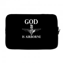 royal marines god is airborne Laptop sleeve | Artistshot