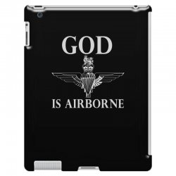 royal marines god is airborne iPad 3 and 4 Case | Artistshot