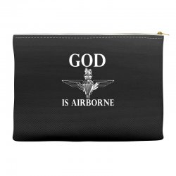 royal marines god is airborne Accessory Pouches | Artistshot
