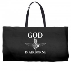 royal marines god is airborne Weekender Totes | Artistshot