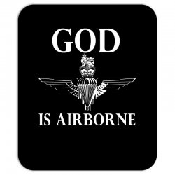 royal marines god is airborne Mousepad | Artistshot
