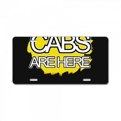 cabs are here License Plate | Artistshot