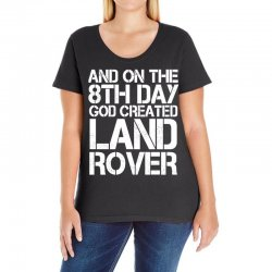 god created land rover Ladies Curvy T-Shirt | Artistshot
