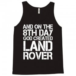 god created land rover Tank Top | Artistshot