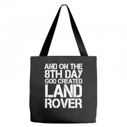 god created land rover Tote Bags | Artistshot