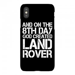 god created land rover iPhoneX Case | Artistshot