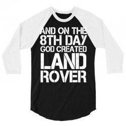god created land rover 3/4 Sleeve Shirt | Artistshot