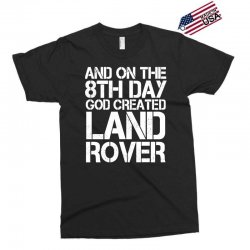 god created land rover Exclusive T-shirt | Artistshot